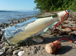 Message in a bottle - content marketing should be co-ordinated