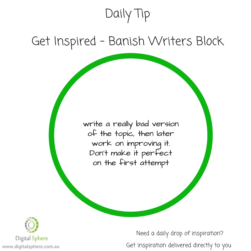 Tips for writers - writing help