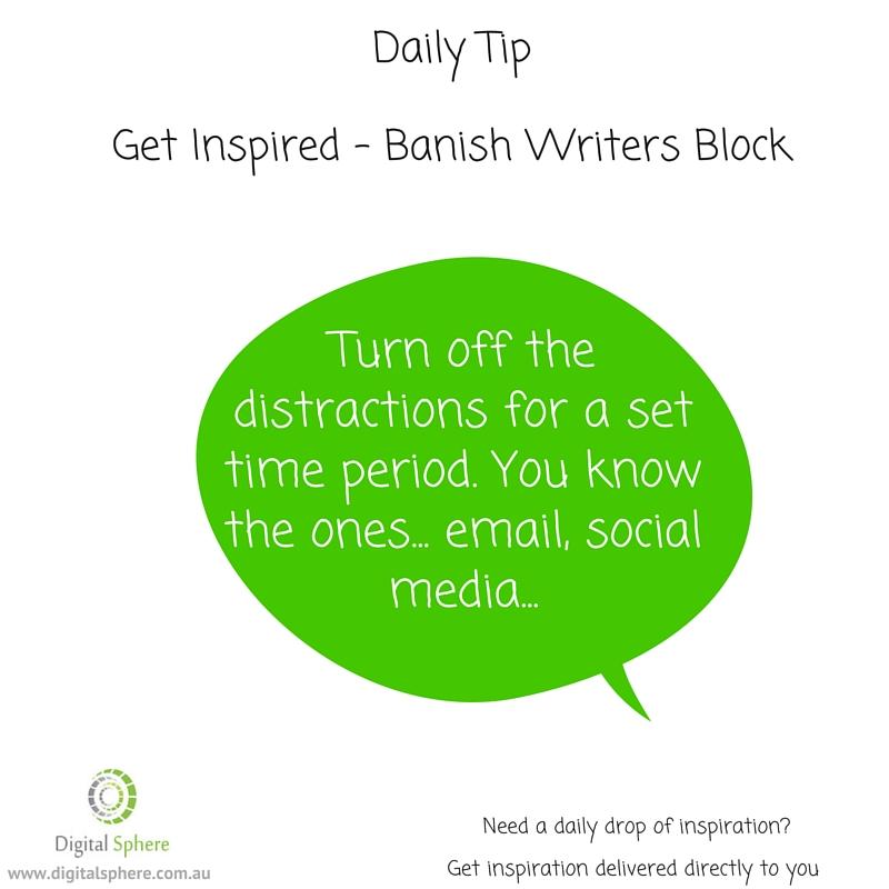Writers Tip